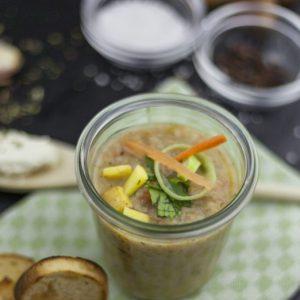 Bio Kartoffelsuppe mit Gemüse, 450g (Vegan), 400 g Pfandglas