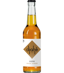 djahé BIO Eistee– Black Ginger 330ml (VEGAN)